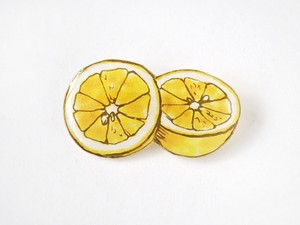 受注生産◆GRAPEFRUIT BROOCH