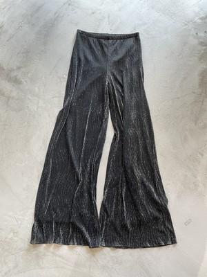 made in U.S.A.  vintage metallic pants