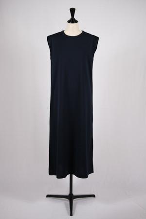 【cantáte】sleeveless c/s dress - dark navy