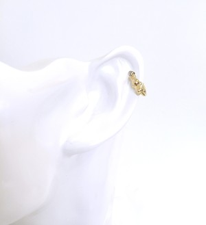 K18YG body jewelry #0005 RABBIT RING