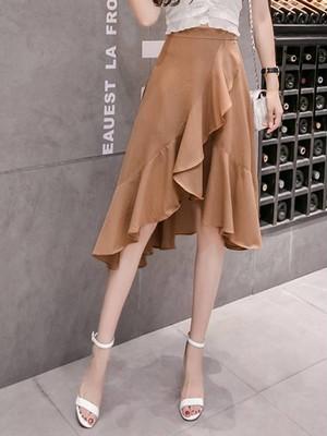 【bottoms】Popular design slim charming skirt