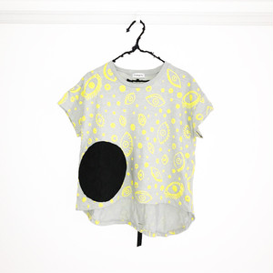 E/G SWITCHING DOTS TEE / LL