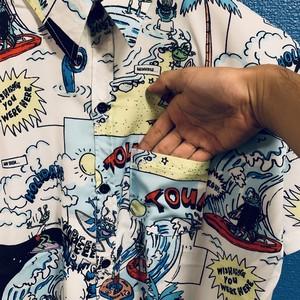 モンスターサーフィンのアロハシャツ