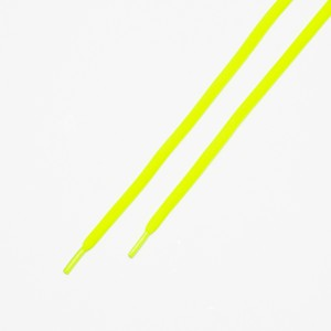 """OVAL LACES SOLID """"NEON YELLOW"""""""