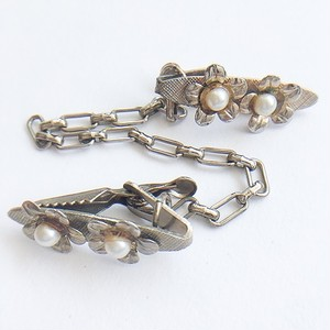 pearl flower sweater clip[s-200]