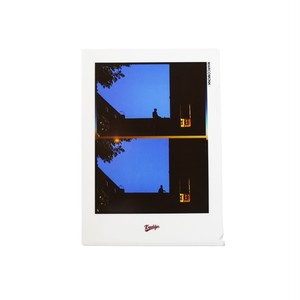 K'rooklyn × Yusuke Oishi - Clear Plastic Folder 002_Blue