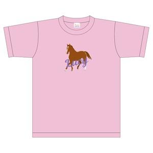 あなたの愛馬で作るオーダーTシャツ(綿100%)