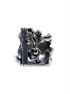 alphabet ring#L (silver925) -アルファベットモチーフ リングL-