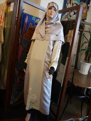ロングワンピース&ヒジャブ  Long dress&Hijab