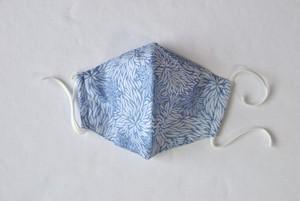 藍染×型染 立体マスク(3重構造)各柄あり