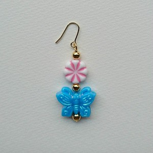 china butterfly pierce(blue)