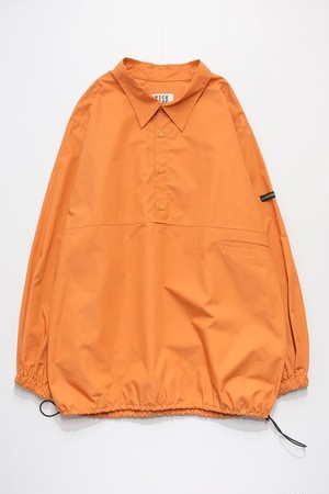 PULL OVER TYPEWRITER SHIRT (ORANGE)