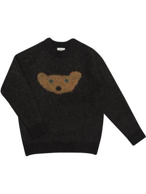 【MOGU TAKAHASHI】SOFT SWEATER midnight bear