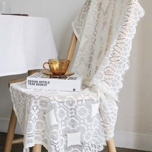 diamond lace fabric poster / ダイアモンドレース ファブリックポスター テーブルランナー テーブルクロス 韓国 雑貨
