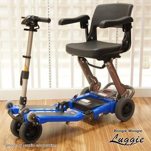 トラベルスクーター「ラギー」ブルー