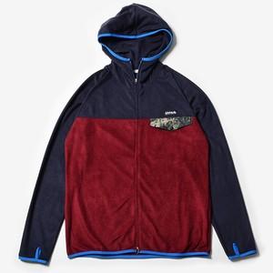 MMA Thermolite Fleece Zip (Navy_Burgundy)