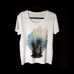 Tシャツ 〜蟲の死骸と樹〜