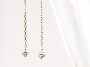 K10 Naked Diamond Earrings