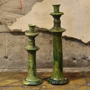 Candle Stand_L 〈Green〉-jumelless-