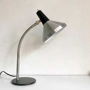 """Hala Zeist"" Vintage Desk Lamp / Silver 60's オランダ"