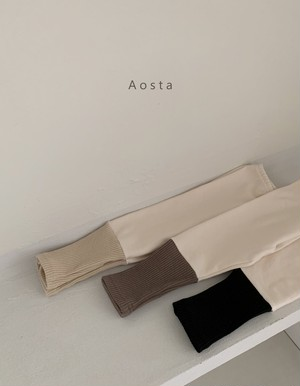 【予約販売】chewy leggings〈Aosta〉