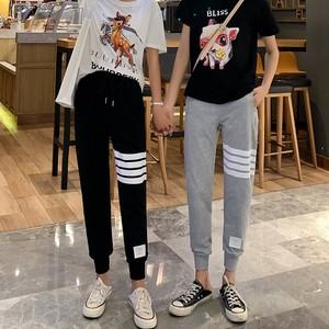 【ボトムス】薄いルーズファッションプリントカジュアルパンツ
