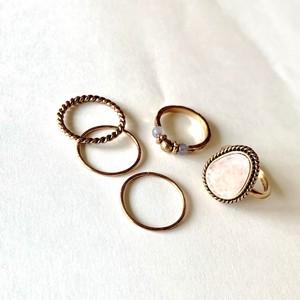 SET Ring antique・pink|セットリング・ピンクアンティーク|#sp101|【STELLAPARK】