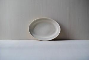 オーバルリムプレート / M / oatmeal