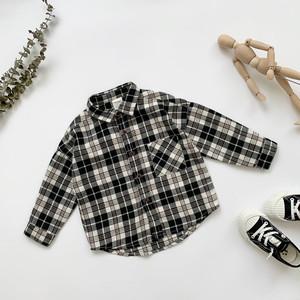 【先行予約】チェックコットンシャツ