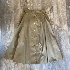 古着 Miss Chloe フロントボタン スカート