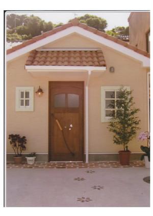 木製玄関ドア KDR-13