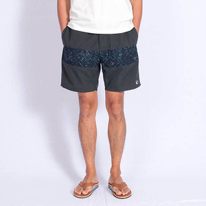 Short pants every day CENTER LINE BATIK Gray/Navy