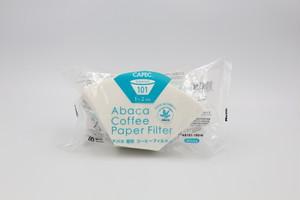 三洋産業 アバカ扇形コーヒーフィルター 白(1~2杯用)