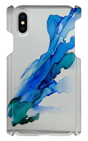 iPhoneX用  スマホケース アルコールインクアート4