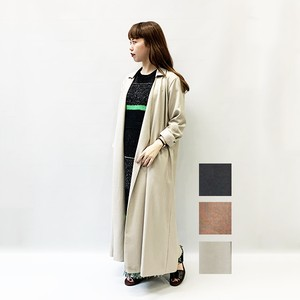 [SALE] RIM.ARK(リムアーク) Linen like collared gown [送料無料]