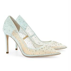 bellabelleshoes: Elsa Blue
