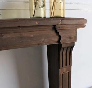 Clásico Wood Mantlepiece / アンティークスタイル 木製マントルピース