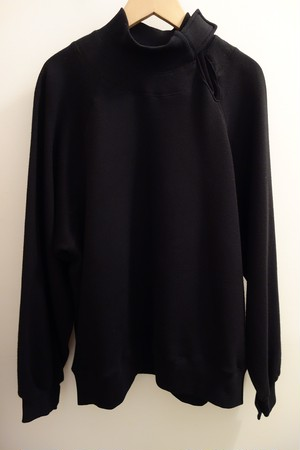 <Graphpaper>STRAP COLLAR SWEAT PULLOVER