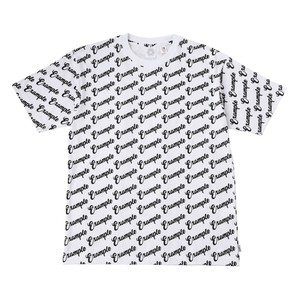EXAMPLE TOTAL EXAMPLE S/S TEE / WHITE