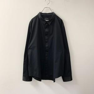 Original Use ブラックシャツ サテン切り替え size XXL メンズ 古着