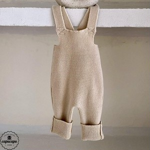 «sold out» little knit overalls 3colors リトルニットオーバーオール