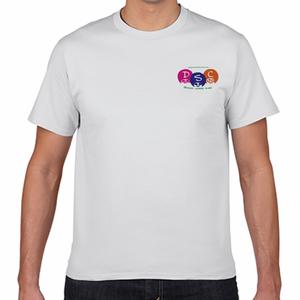 ワンポイントアフロTシャツ[白]