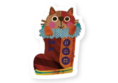 雑貨づくりユニット「potofu」のとっても可愛い動物ミニステッカーに夢中♡