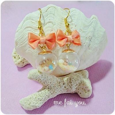 沖縄の貝殻が可愛いアクセに大変身♡夏は貝殻アクセが絶対欲しい!