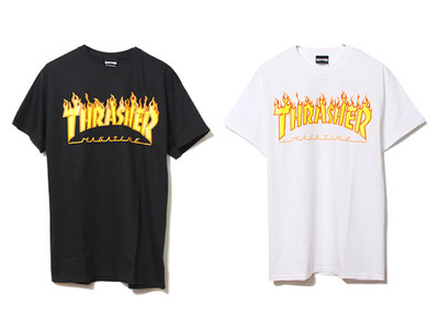 世界中の若者から絶大な支持を集めるブランド「Thrasher(スラッシャー)」のクールなTシャツ