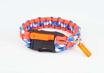 防災 × ファッション!海と共に生きるために。津波防災の色「オレンジ」をファッションに取り入れよう!「#beORANGE」の防災用ミサンガ