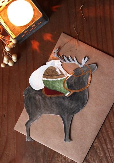 日頃の感謝の気持ちを込めて気軽に贈りたい、クリスマスカード5選