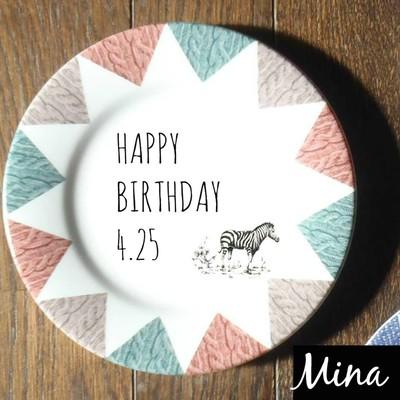 誕生日、記念日やウェディングなどのお祝いに♡「Flaminago」のガーランドプレートで特別な食卓を