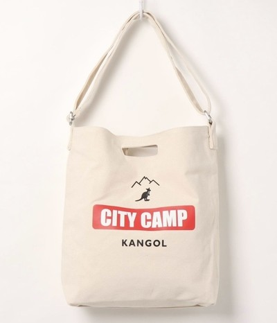 KANGOLのとても可愛いキャンバスショルダーが入荷♪
