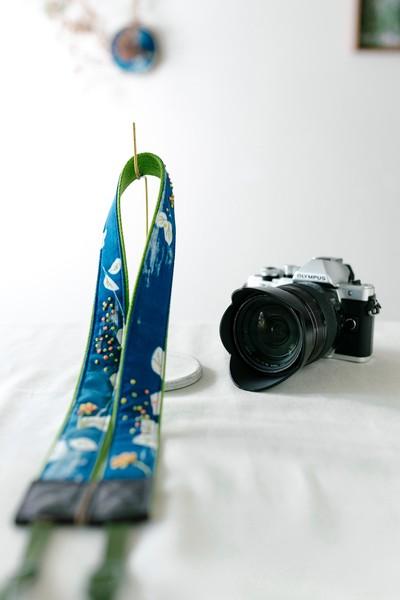 写真好きが作ったカメラストラップ